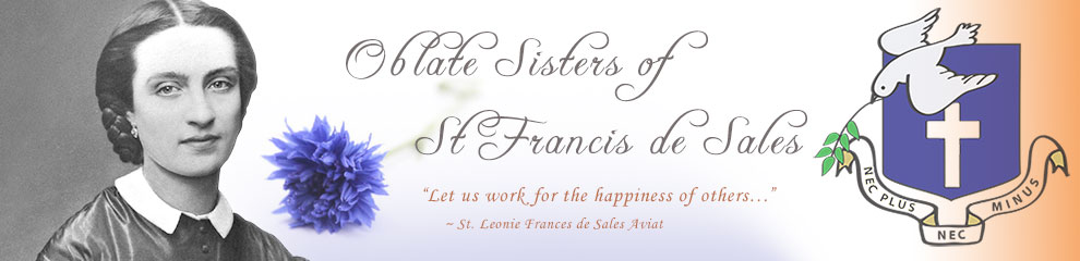 logo for Oblate Sistes of St. Francis de Sales
